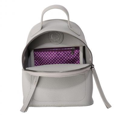 Женский рюкзак из экокожи Ors Oro — DS-917 (серый)
