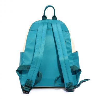 Женский рюкзак из экокожи Ors Oro (мятно-зеленый бежевый)