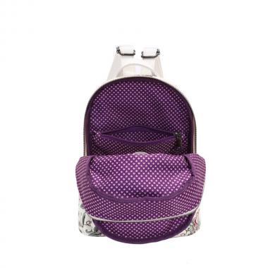 Женский рюкзак из экокожи Ors Oro (цветы имитация вышивки)