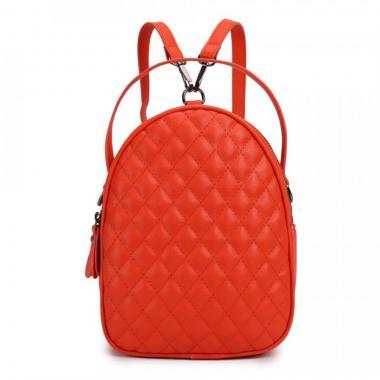 Женский рюкзак из экокожи Ors Oro (оранж)