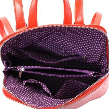 Женский рюкзак из экокожи Ors Oro (оранжевый)
