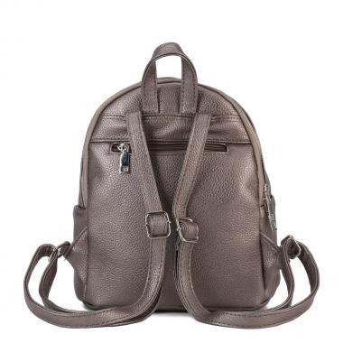 Женский рюкзак из экокожи Ors Oro (платина)