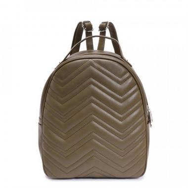 Женский рюкзак из экокожи Ors Oro (хаки)