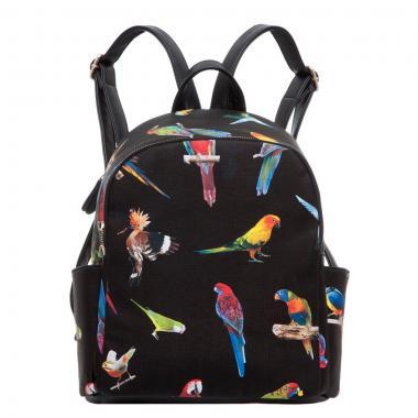 Женский рюкзак из экокожи Ors Oro (попугаи)