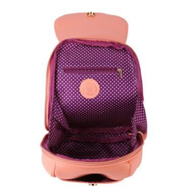Женский рюкзак из экокожи Ors Oro (коралл)