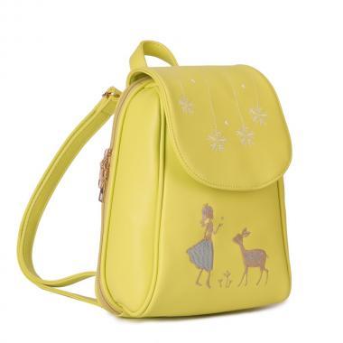 Женский рюкзак из экокожи Ors Oro (салатовый)