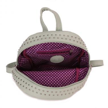 Женский рюкзак из экокожи Ors Oro (фисташковый)
