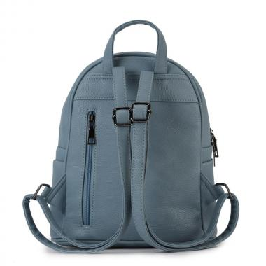 Женский рюкзак из экокожи Ors Oro (голубой)