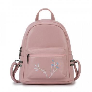 Женский рюкзак из экокожи Ors Oro (пудра)
