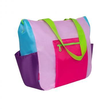 Женская сумка Grizzly (розовый/жимолость)