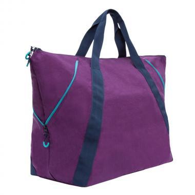 Женская дорожная сумка Grizzly (фиолетовый)