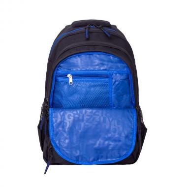 Мужской рюкзак Grizzly (черный/синий)