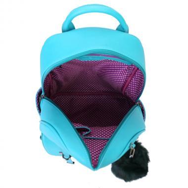 Женский рюкзак из экокожи Ors Oro (сине-зеленый)