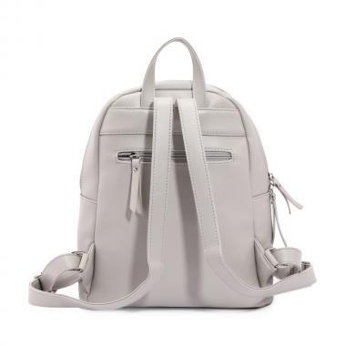 Женский рюкзак из экокожи Ors Oro — DS-927 (св.серый)