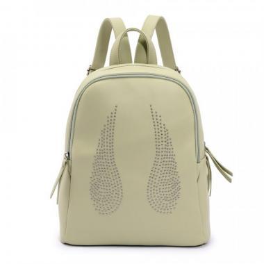 Женский рюкзак из экокожи Ors Oro — DS-927 (фисташковый)