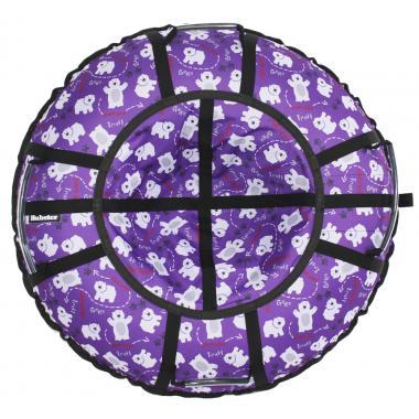 Тюбинг Hubster Люкс Pro Мишки фиолетовые