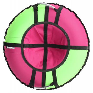 Тюбинг Hubster Хайп розовый-салатовый