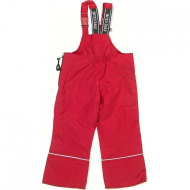 Детские штаны на хлопке с грудкой Five Club (брусника), 1-6 лет