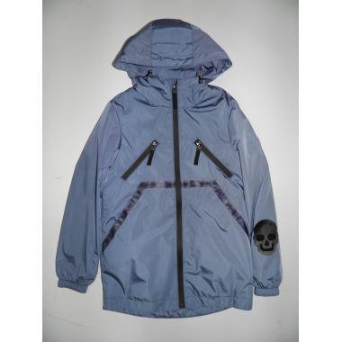 Ветровка АВРОРА для мальчика СТИВ (серо-голубой), 7-14 лет