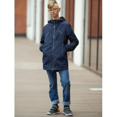 Ветровка АВРОРА для мальчика СТИВ (мокрый асфальт), 7-14 лет
