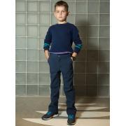 Брюки АВРОРА для мальчика РОБЕРТ (синий), 4-11 лет