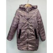 Демисезонное пальто АВРОРА для девочки АМАЛИЯ (орхидея), 8-14 лет