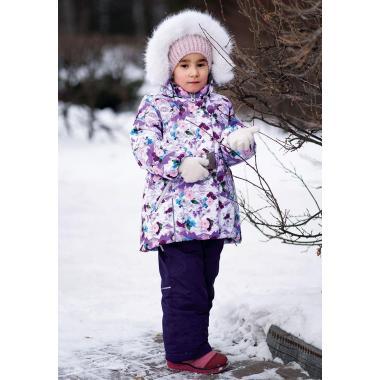 Купить Зимний комплект БАТИК для девочки КАЙЛИ (сиреневый), 2-7 лет
