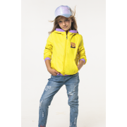 Ветровка BOOM! by Orby для девочки (желтый), 3-14 лет