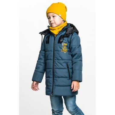 Демисезонная куртка BOOM! by Orby для мальчика (бутылочный/черный), 3-15 лет