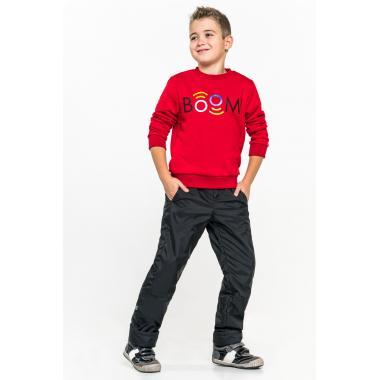 Утепленная брюки BOOM! by Orby для мальчиков (черный), 1,5 - 15 лет