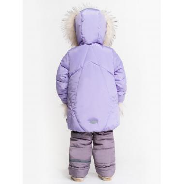 Купить Зимний комплект BOOM! для девочки (сирень/серый), 2-7 лет
