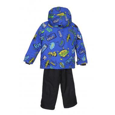 Зимний комплект DISUMER для мальчика (голубой), 3 - 7 лет