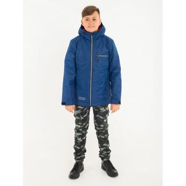 Демисезонная куртка EMSON для мальчика  АРТУР (синий), 7-14 лет
