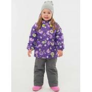 Демисезонный комплект EMSON для девочки СПЕКТР (фиолетовый), 1,5 - 8 лет