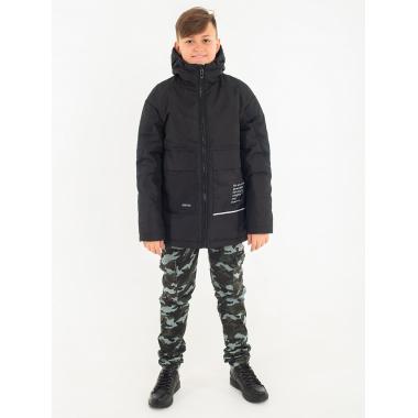 Демисезонная куртка EMSON для мальчика ЛЕО (черный), 9-14 лет
