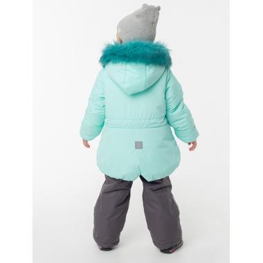 Купить Зимний комплект EMSON для девочки БЭЛЛА (мятный), 2 - 6 лет