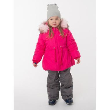 Купить Зимний комплект EMSON для девочки БЭЛЛА (малиновый), 2 - 6 лет