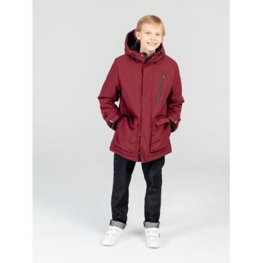 Зимняя куртка EMSON  для мальчика ТИМУР (бордо), 9-15 лет