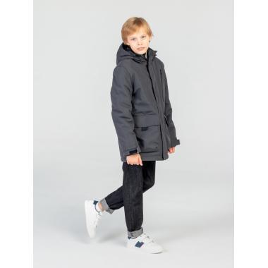 Зимняя куртка EMSON  для мальчика ТИМУР (т.серый), 9-15 лет