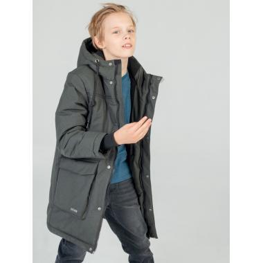 Зимнее пальто EMSON  для мальчика МАРВИН (хаки), 10-14 лет