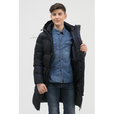 Зимнее пальто для мальчика JAN STEEN (синий), 11-14 лет