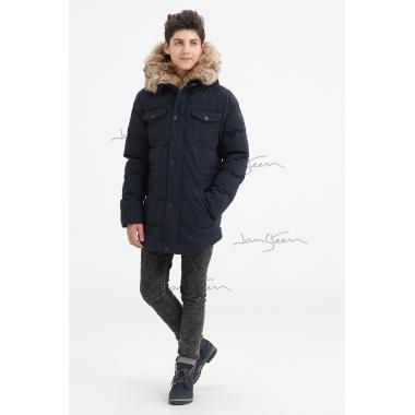 Зимняя куртка для мальчика JAN STEEN (синий), 11-14 лет