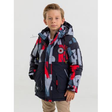 Зимняя куртка для мальчика JAN STEEN (красный), 8 - 12 лет