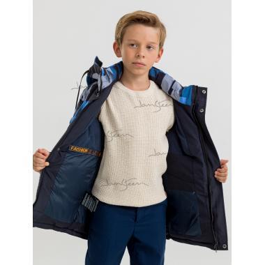 Зимняя куртка для мальчика JAN STEEN (синий), 8 - 12 лет