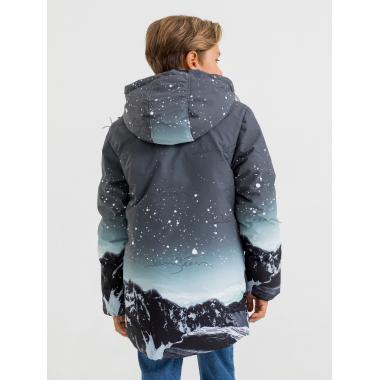Зимняя куртка для мальчика JAN STEEN (серый), 10 - 14 лет