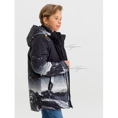 Зимняя куртка для мальчика JAN STEEN (черный), 10 - 14 лет