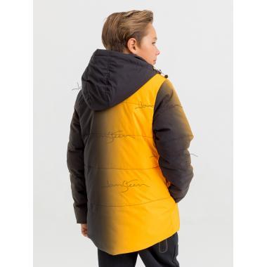 Зимняя куртка для мальчика JAN STEEN (желтый), 10 - 14 лет