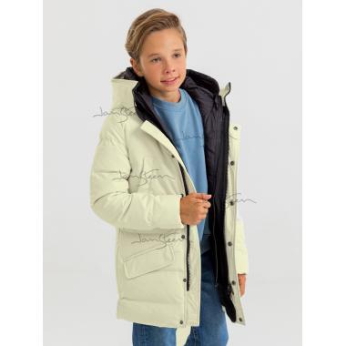 Зимнее пальто для мальчика JAN STEEN (белый), 12 - 15 лет