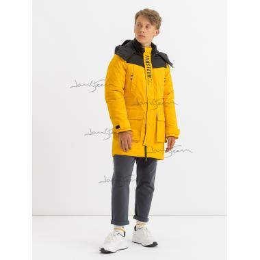 Зимняя куртка для мальчика JAN STEEN (желтый), 11 - 15 лет