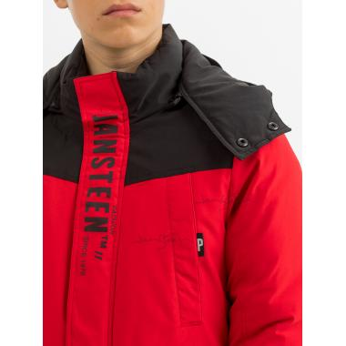 Зимняя куртка для мальчика JAN STEEN (красный), 11 - 15 лет
